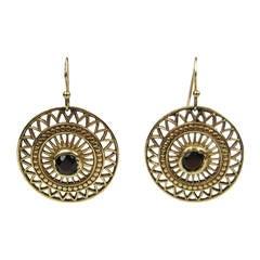 Antique 14K Gold Victorian Dangle Earrings