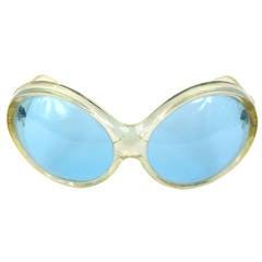 1960s Mod Bug Eye Sunglasses Italy
