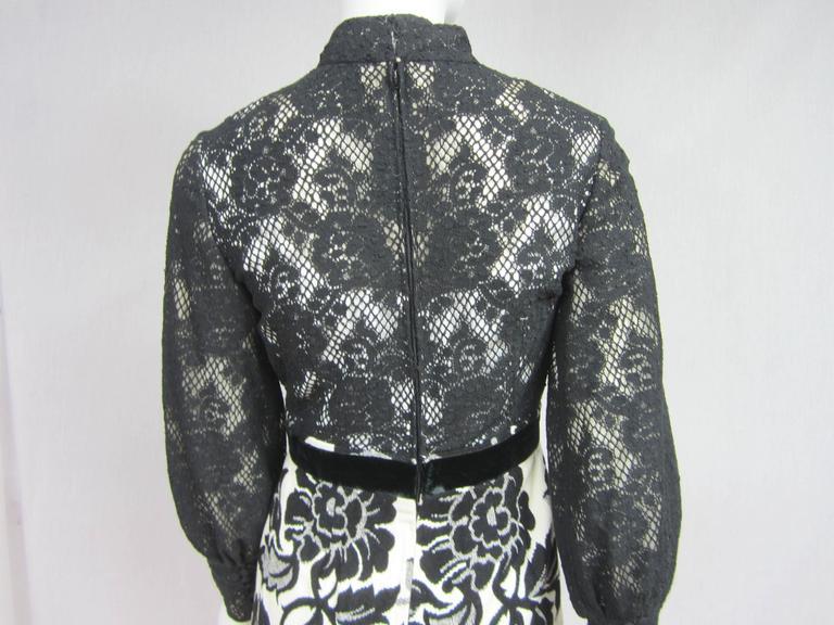 Vintage 1970's Black Hot Pants - Shorts & Wrap Maxi Skirt Mignon 3