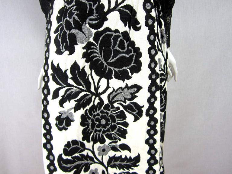 Vintage 1970's Black Hot Pants - Shorts & Wrap Maxi Skirt Mignon 6