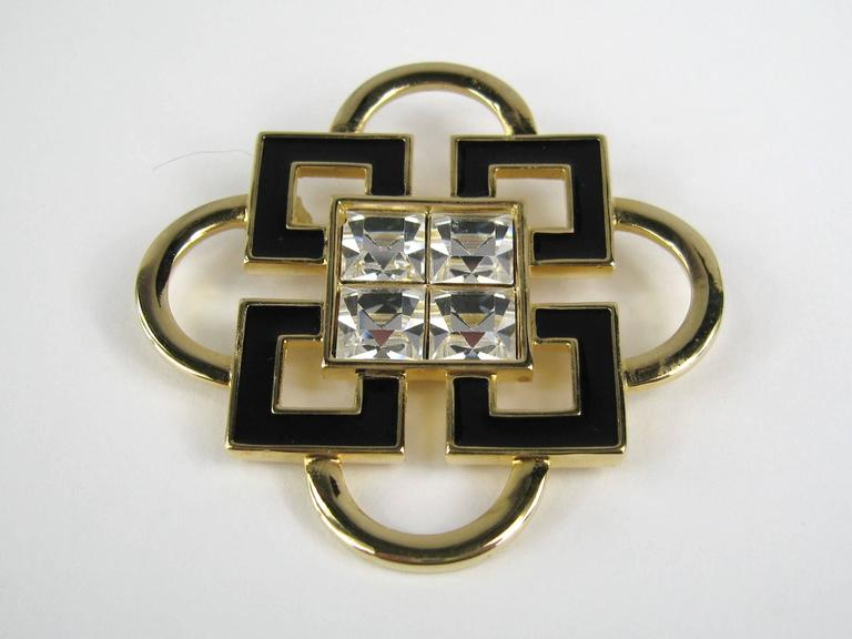 New Old Stock Swarovski Vintage Brooch. 