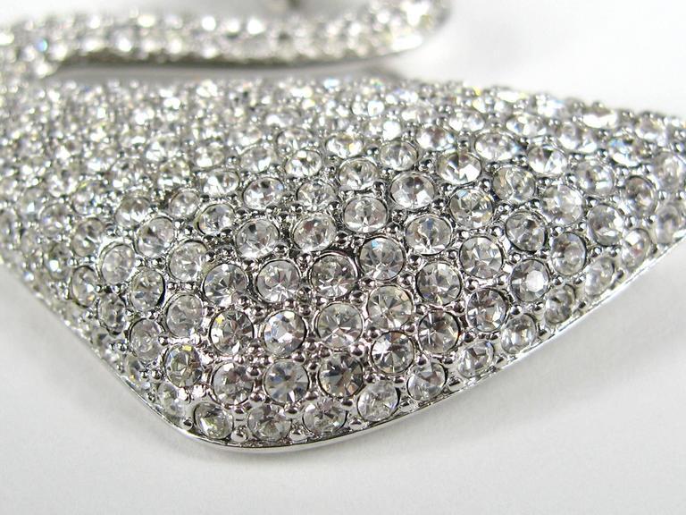 SWAROVSKI Crystal Iconic Swan Bug Brooch Pin Never Worn 5