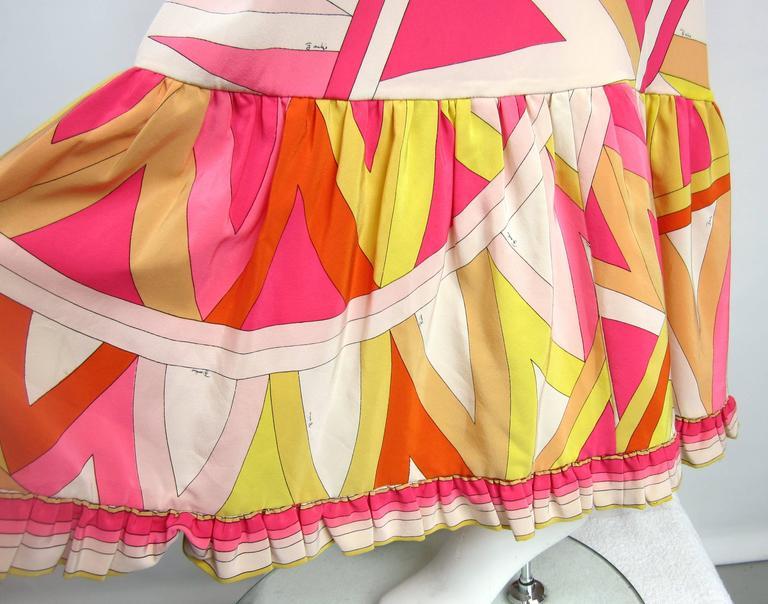 a2e3bc03eb6a Women s Pucci Silk Palazzo Pants Strapless Jumpsuit