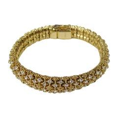 1980s Ciner Swarovski Crystal Bracelet Never Worn