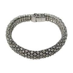 1980s Ciner Crystal Swarovski Encrusted  Bracelet- Never Worn