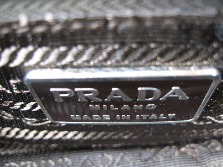 Prada Bronze Leather Handbag New Never Used with tags  For Sale 2
