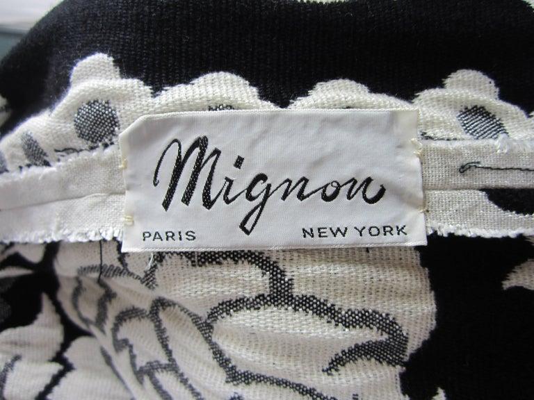 Vintage 1970's Black Hot Pants - Shorts & Wrap Maxi Skirt Mignon For Sale 4