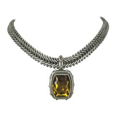 1900s Stephen Dweck Sterling Silver Necklace New, Never Worn