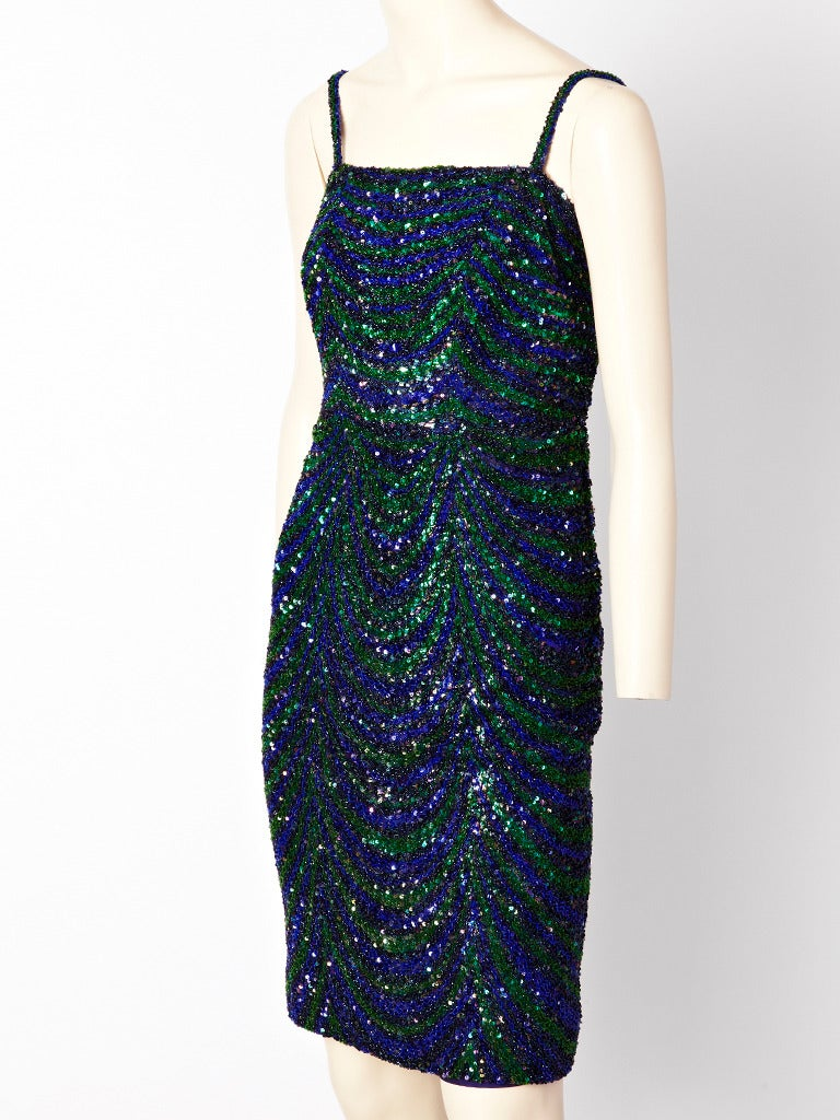 Christian dior couture beaded and sequined cocktail dress for Dior couture dress price