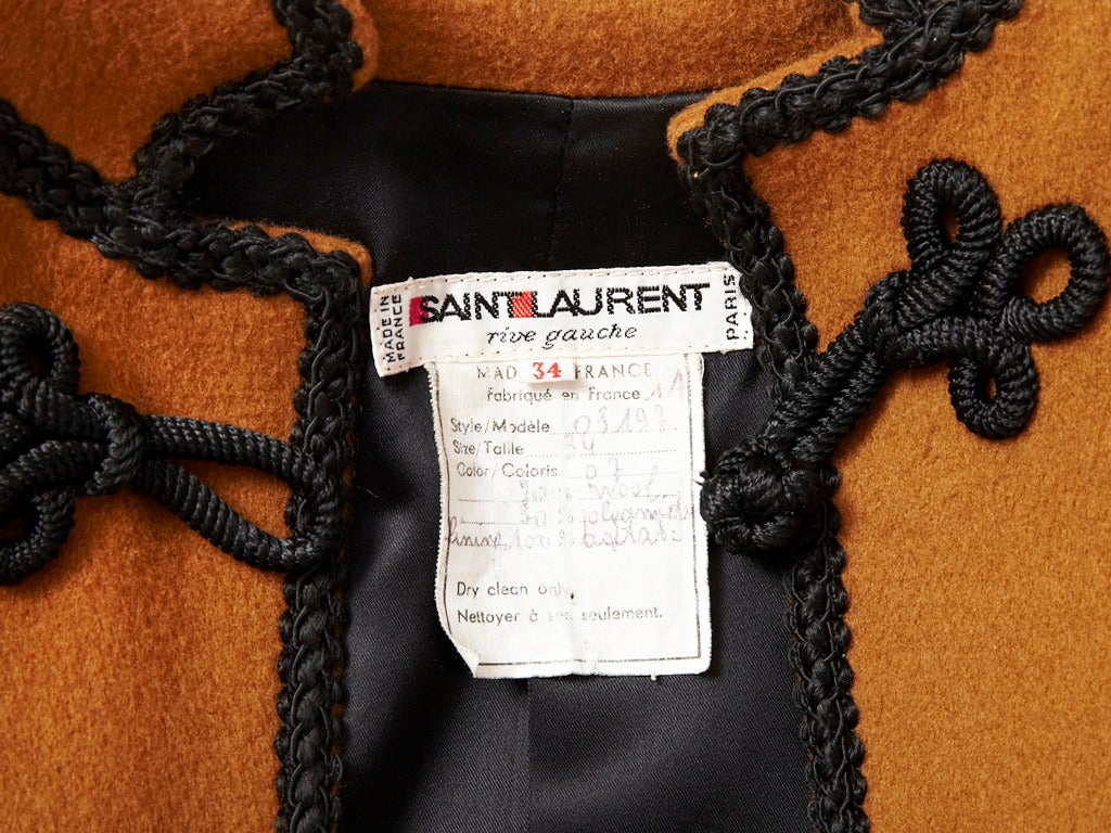 Yves Saint Laurent Russian Collection Jacket 4