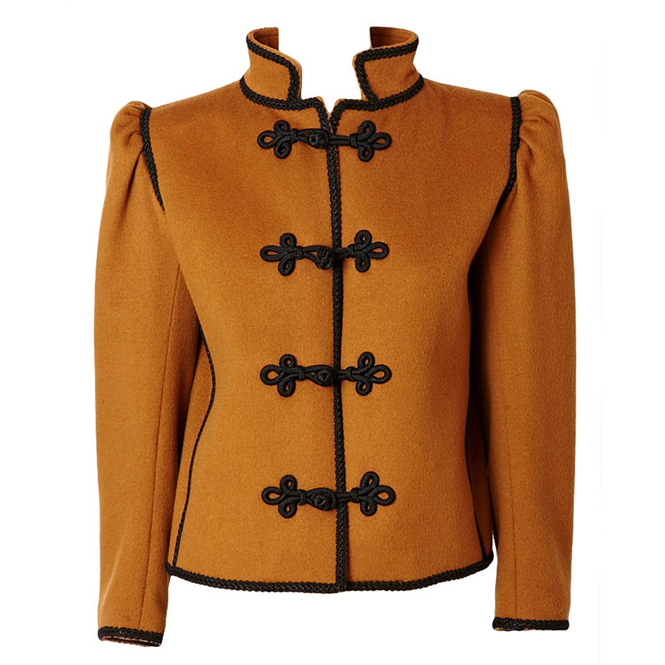Yves Saint Laurent Russian Collection Jacket 1