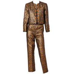 Yves Saint Laurent Brocade Dinner Suit