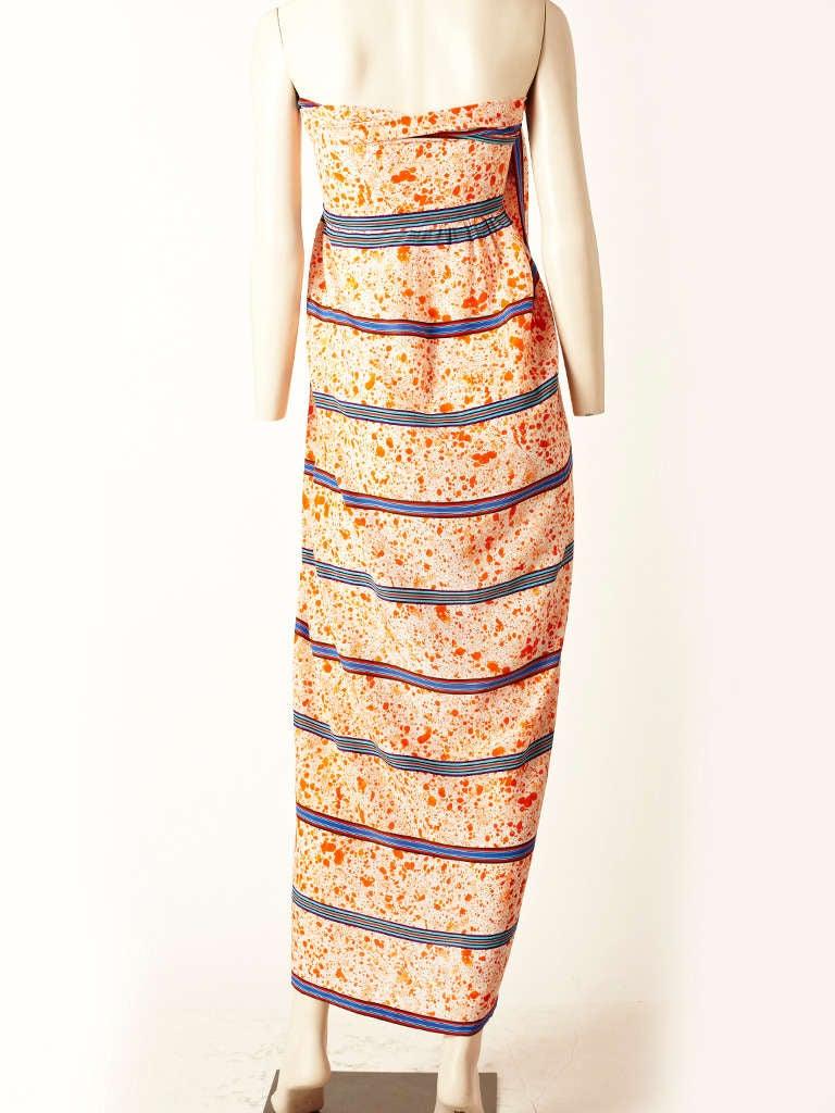 Lanvin Silk Sarong Dress 3