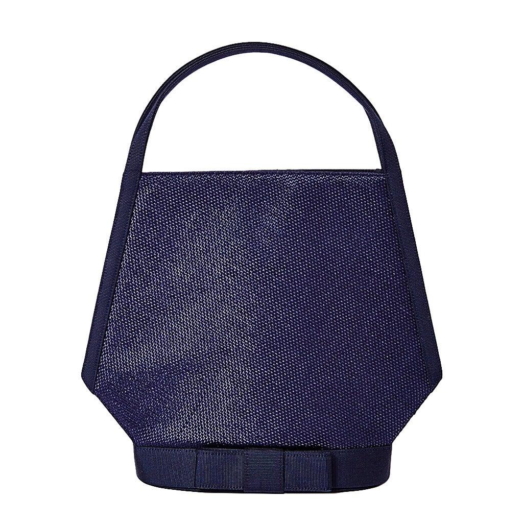 Guy Laroche Blue Silk Evening Bag With Gold Hardware jNN5p1Zv