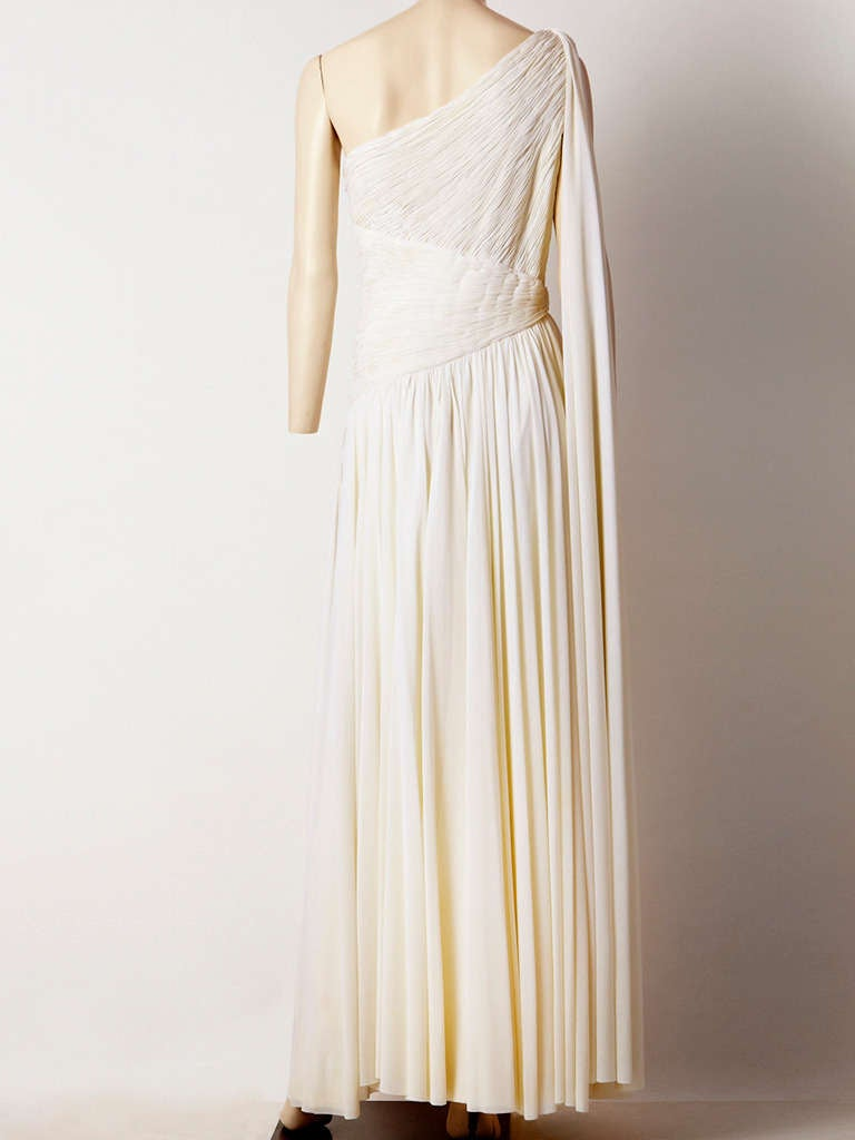 Jacques de Beaucour Grecian Inspired Jersey Gown 3