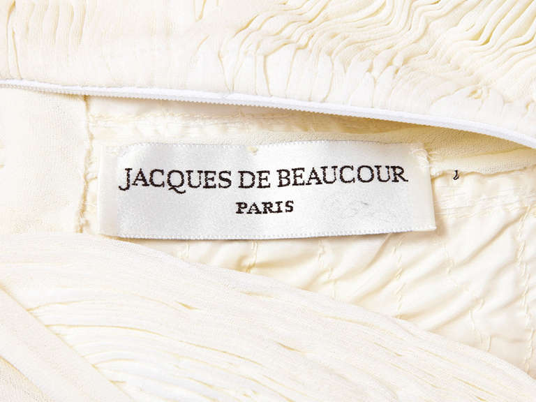 Jacques de Beaucour Grecian Inspired Jersey Gown 4
