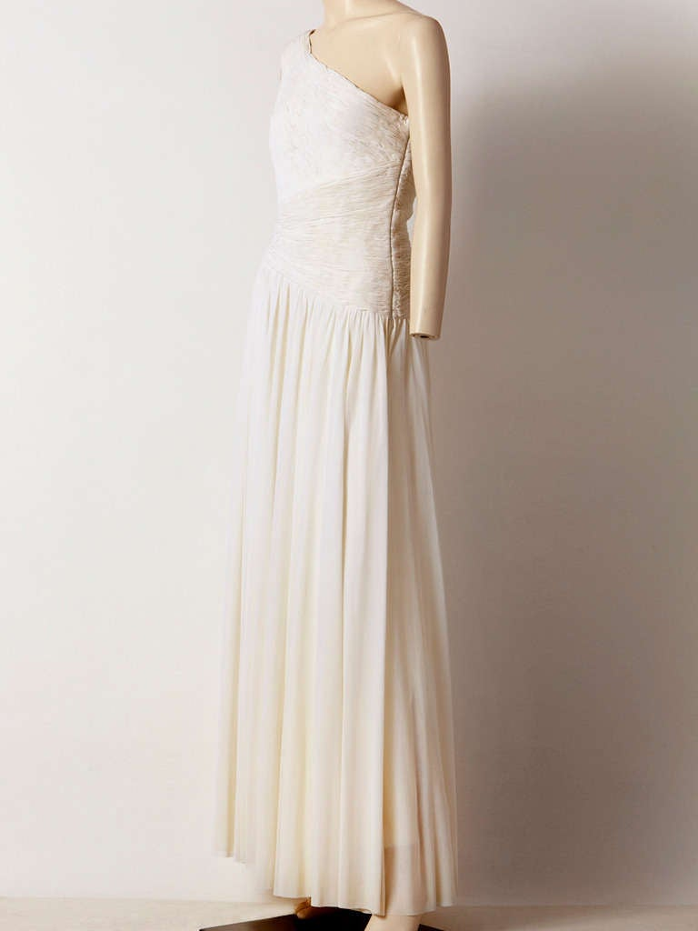Jacques de Beaucour Grecian Inspired Jersey Gown 2