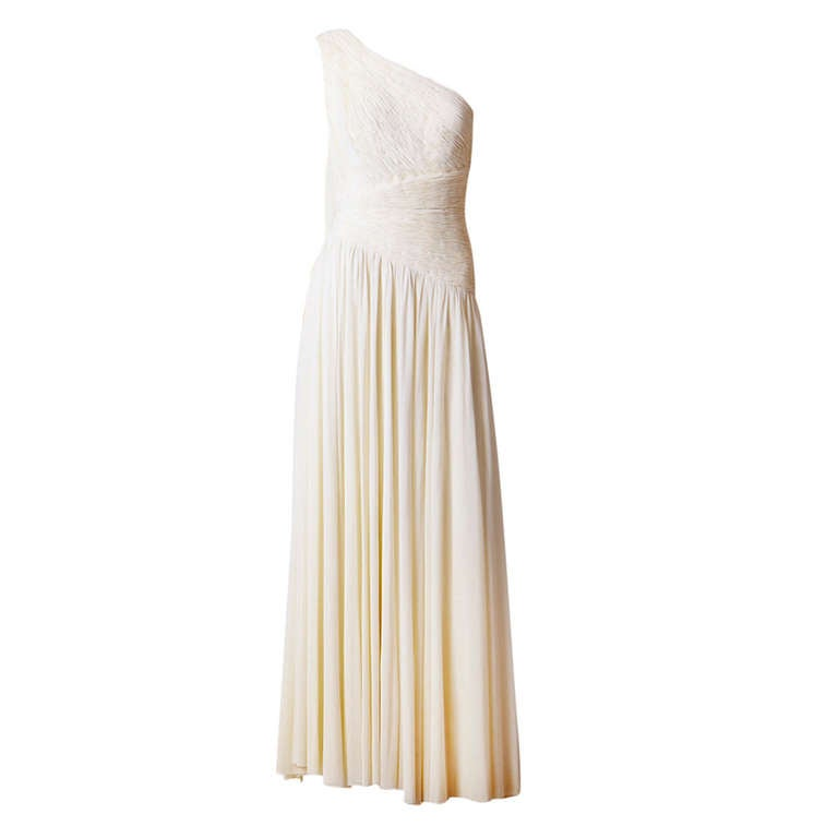 Jacques de Beaucour Grecian Inspired Jersey Gown 1