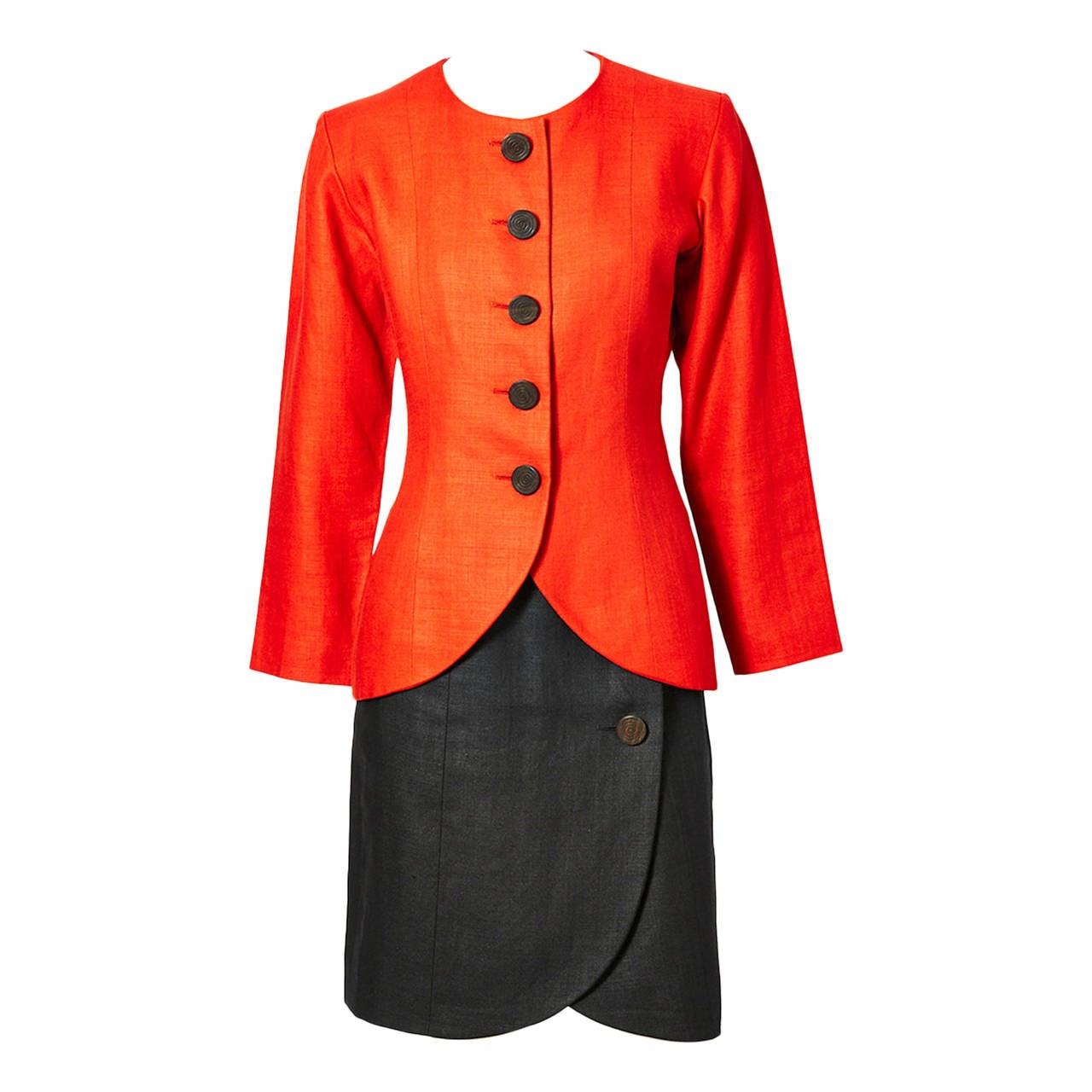 Yves Saint Laurent Linen Suit