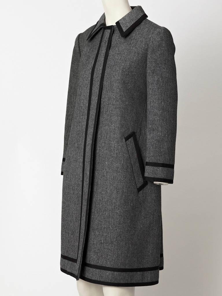 Goeffrey Beene Wool Coat Dress 2