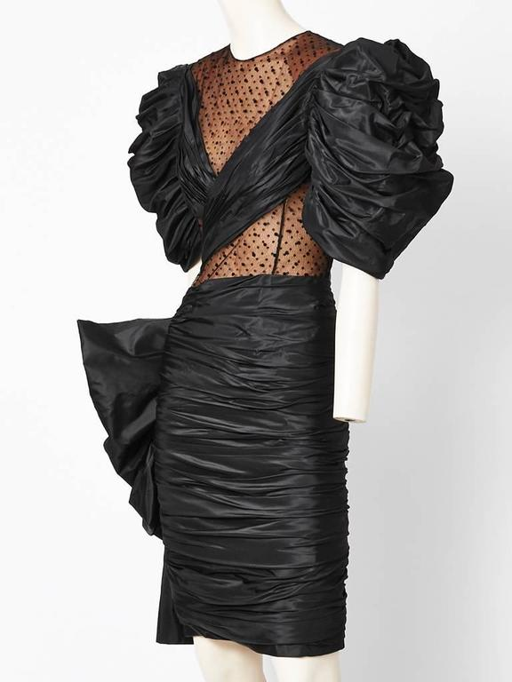 Jacqueline de ribes dramatic cocktail dress at 1stdibs for Cocktail jacqueline