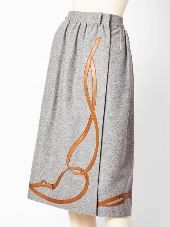 Grey Flannel Skirt 9