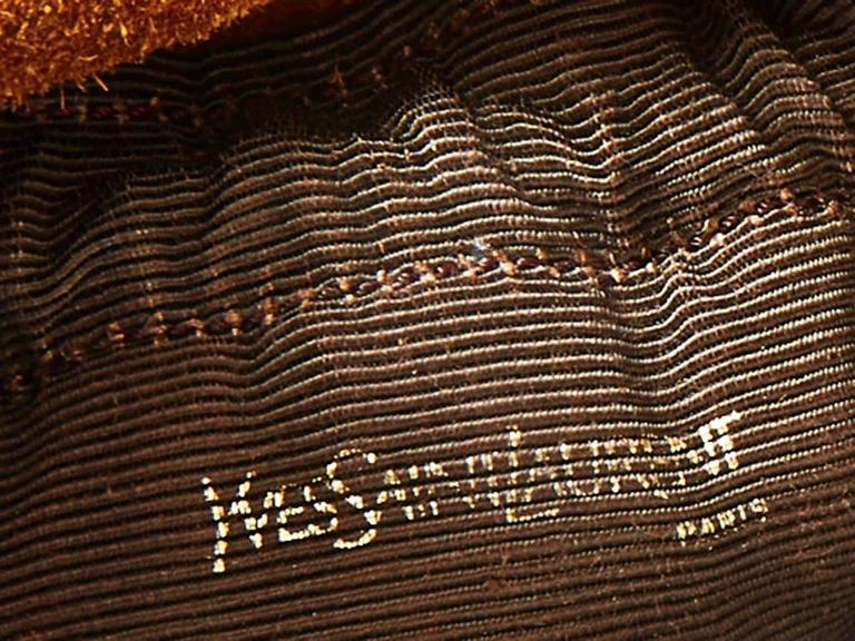 Women s or Men s Yves Saint Laurent Suede and Leather Drawstring Bag For  Sale 17501a69ae876