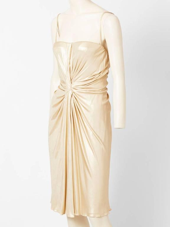 Christian Dior Draped Cocktail Dress 2