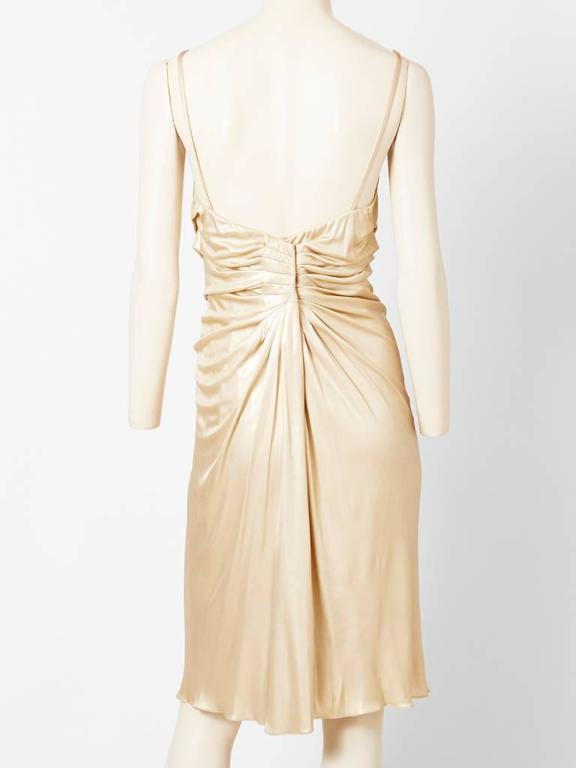 Christian Dior Draped Cocktail Dress 3