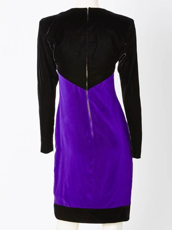 Yves Saint Laurent Velvet Couture Ensemble 5