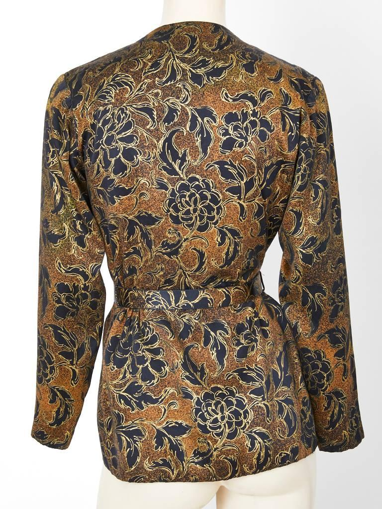 Yves Saint Laurent Couture Evening Jacket In Excellent Condition For Sale In New York, NY