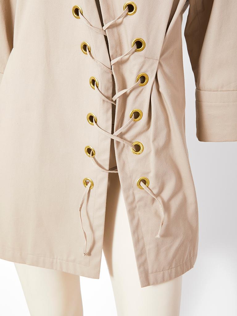 Women's Yves Saint Laurent Khaki Saharienne Tunic For Sale