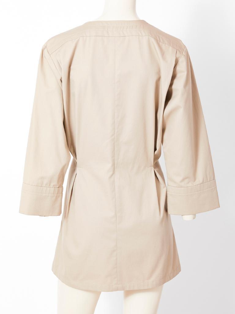 Yves Saint Laurent Khaki Saharienne Tunic For Sale 1