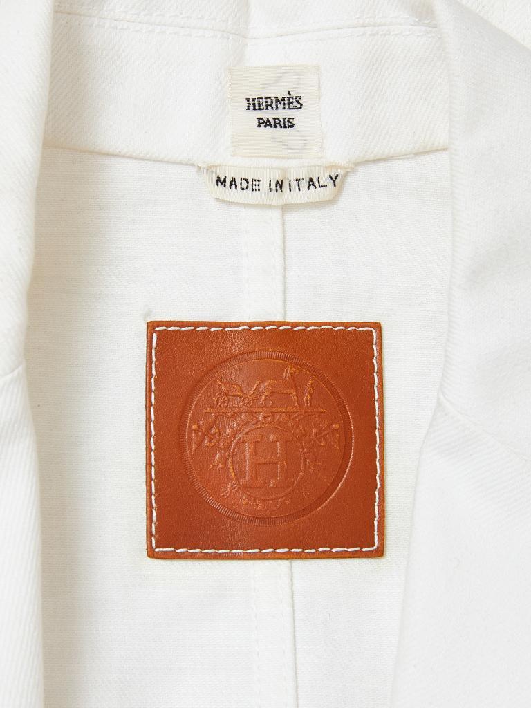 Women's Hermes Denim Blazer For Sale