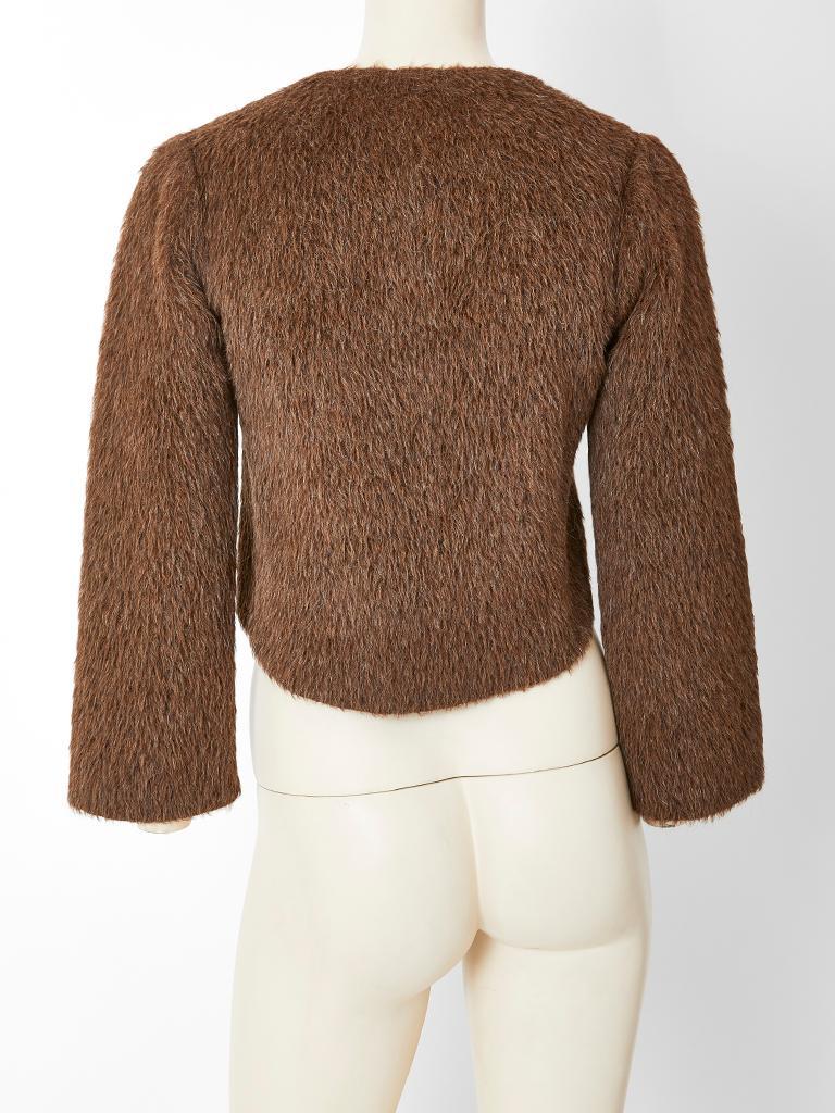 Women's Geoffrey Beene Mohair Jacket For Sale