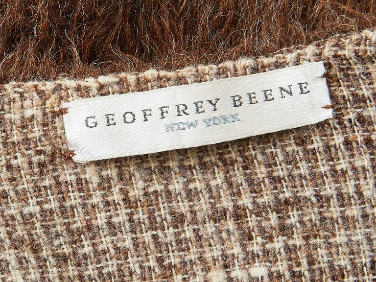 Geoffrey Beene Mohair Jacket For Sale 1