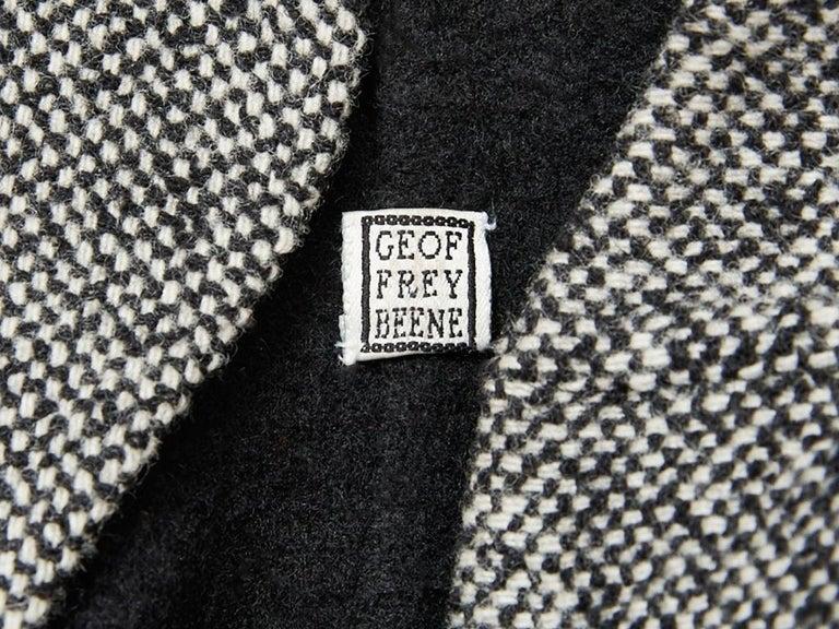 Women's Geoffrey Beene Tweed Maxi Coat For Sale