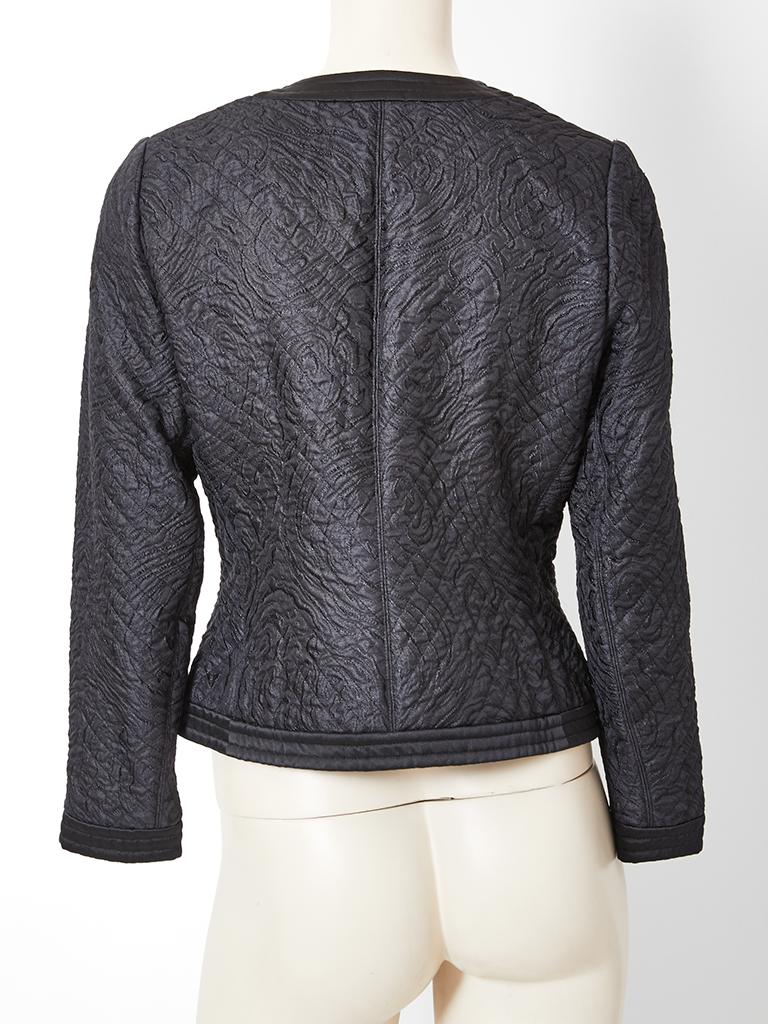 Women's Yves Saint Laurent Rive Gauche Quilted Evening Jacket For Sale