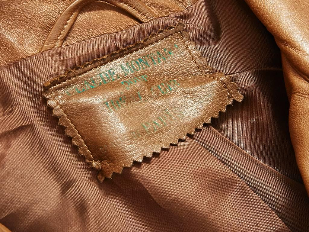 Montana Leather Jacket For Sale At 1stdibs