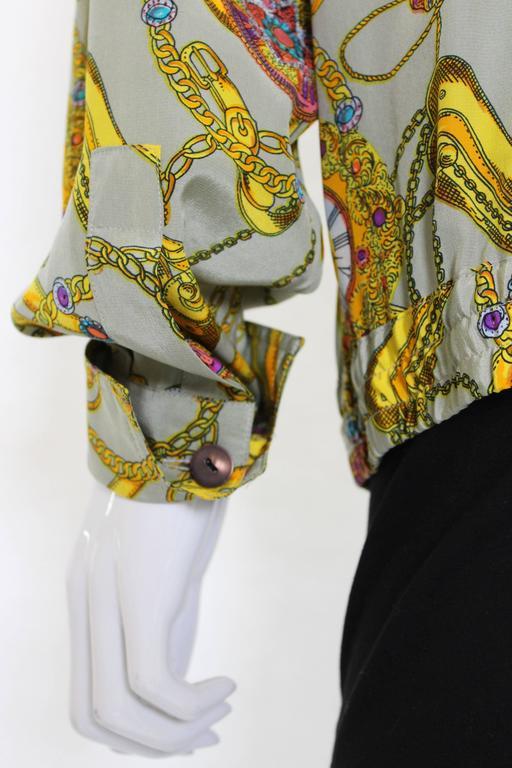 Pierre Cardin Silk Blouson  For Sale 1