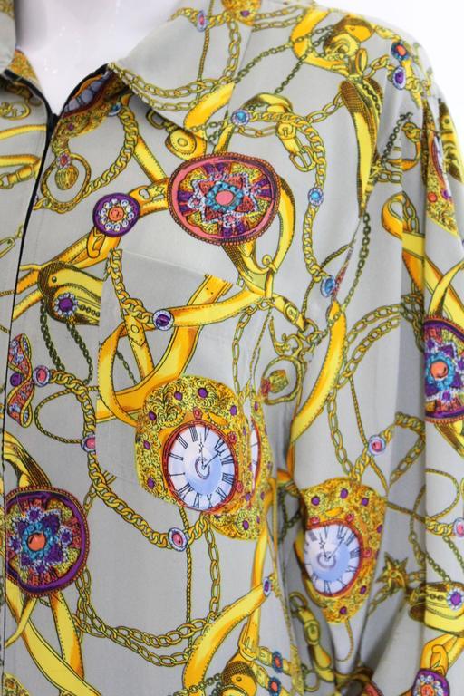 Women's Pierre Cardin Silk Blouson  For Sale