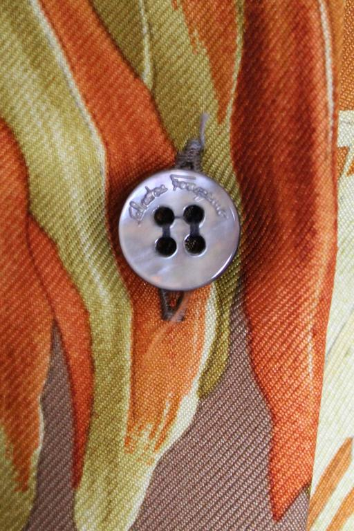 Silk Overshirt by Salvatore Ferragamo 8