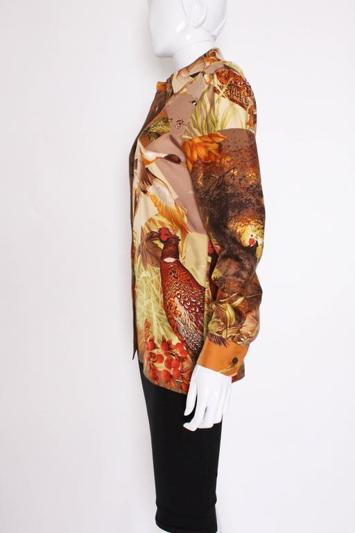 Silk Overshirt by Salvatore Ferragamo 5