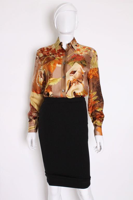 Silk Overshirt by Salvatore Ferragamo 3