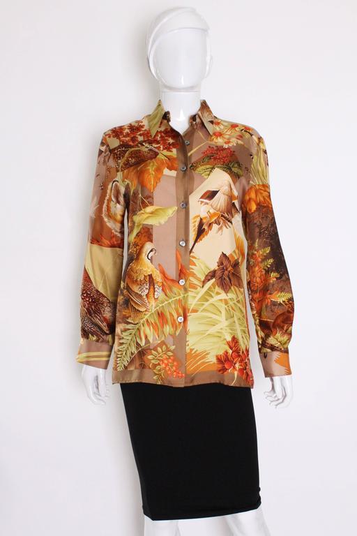 Silk Overshirt by Salvatore Ferragamo 2