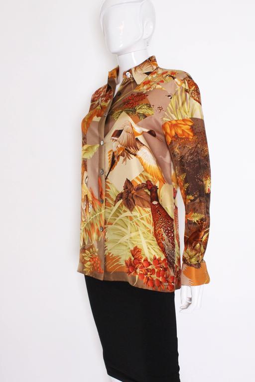 Silk Overshirt by Salvatore Ferragamo 4