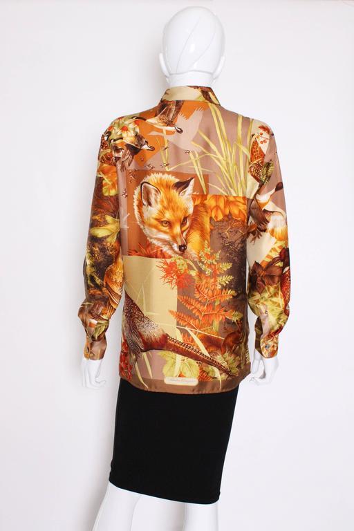 Silk Overshirt by Salvatore Ferragamo 6