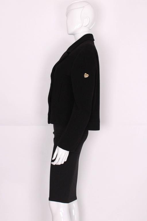 Wool and Mohair Jacket by Moschino Cheap and Chic. 3