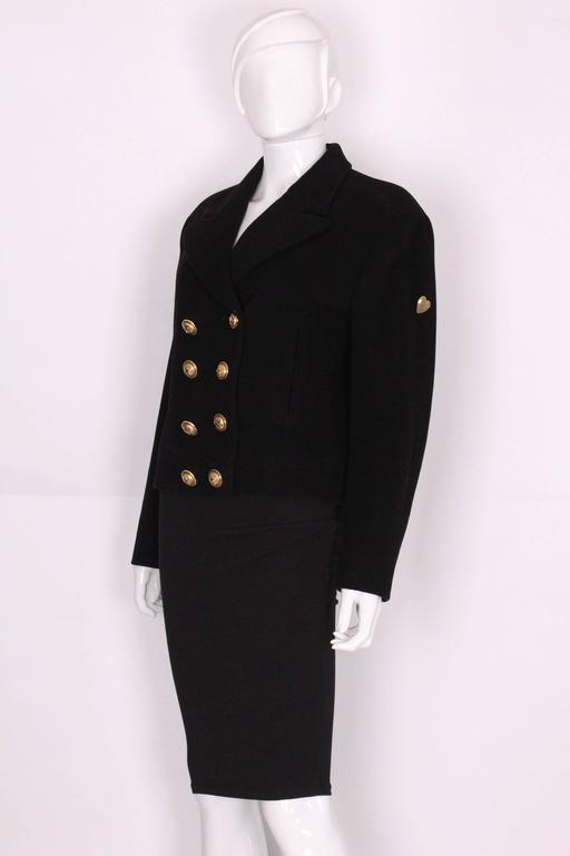 Wool and Mohair Jacket by Moschino Cheap and Chic. 2
