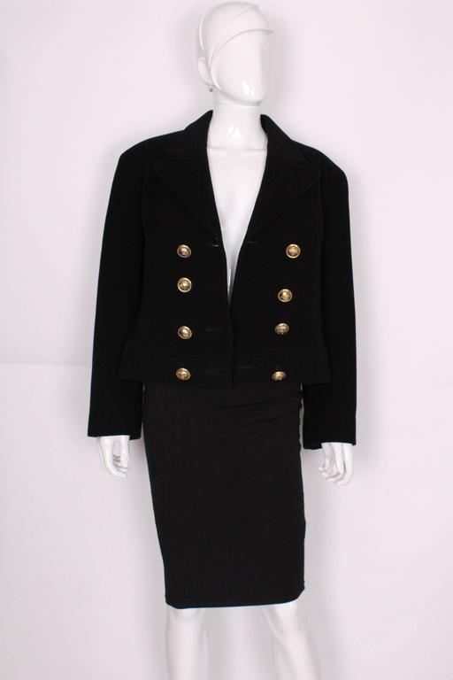 Wool and Mohair Jacket by Moschino Cheap and Chic. 5